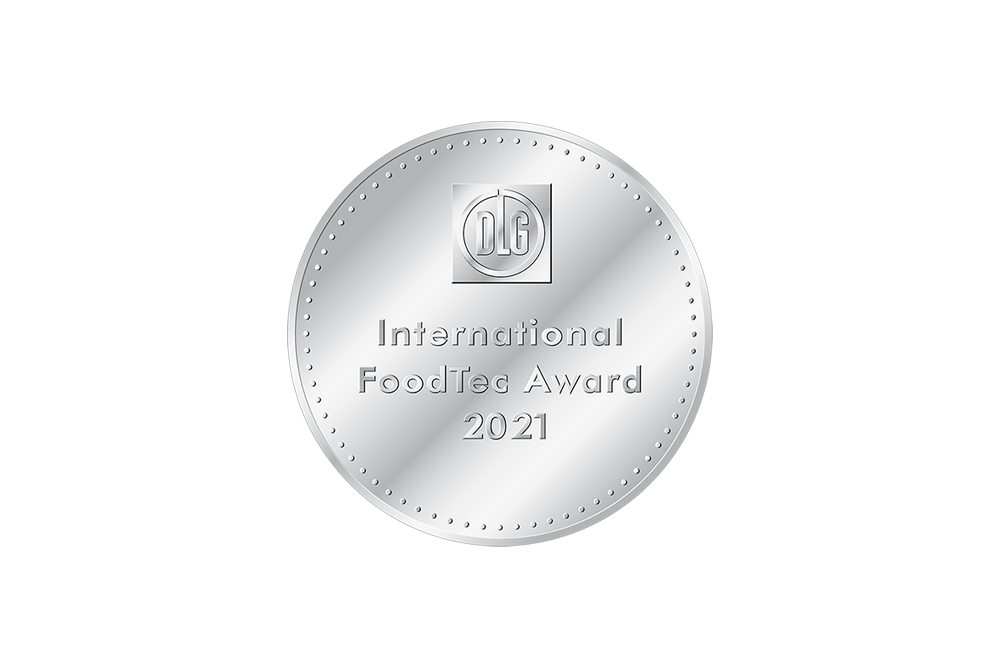 [Translate to English:] International FoodTec Award 2021 Silbermedaille